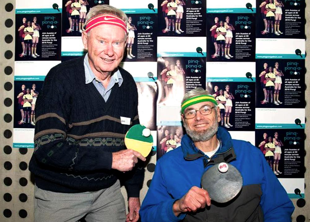 Paul Kirton and Alan Easton