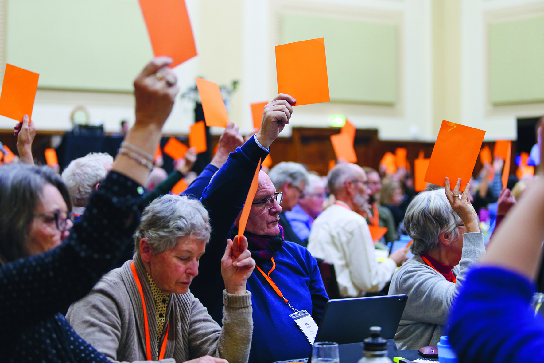 Synod meetings include reporting, information, deliberation and decision-making - as well as worship, prayer, Bible study, celebration, electing the next Moderator, and meeting new people from across the Synod.